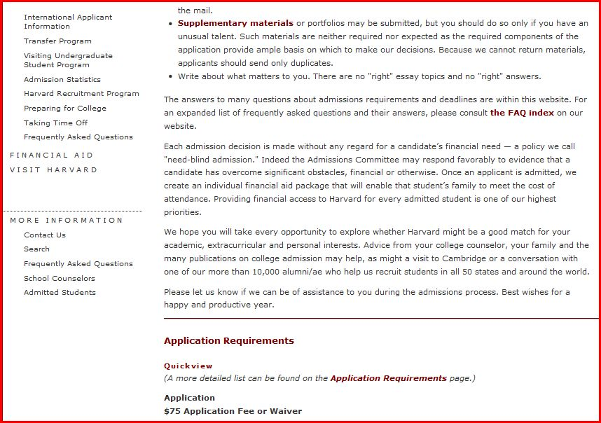 harvard undergraduate application essays Custom written essays, terms papers and other essays for harvard undergraduate professional school essay editing websites for mba academic work gradesaver offers study guides, application and school paper editing services, literature essays, college application essays and writing help.